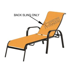 replacement slings for your chaise lounge back sling only