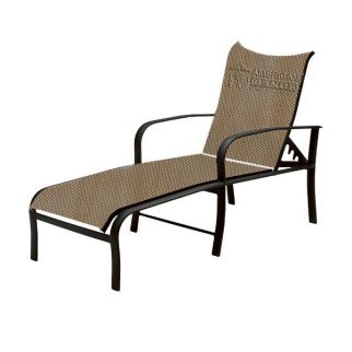 Chaise Lounge Curved back 2 Piece Sling